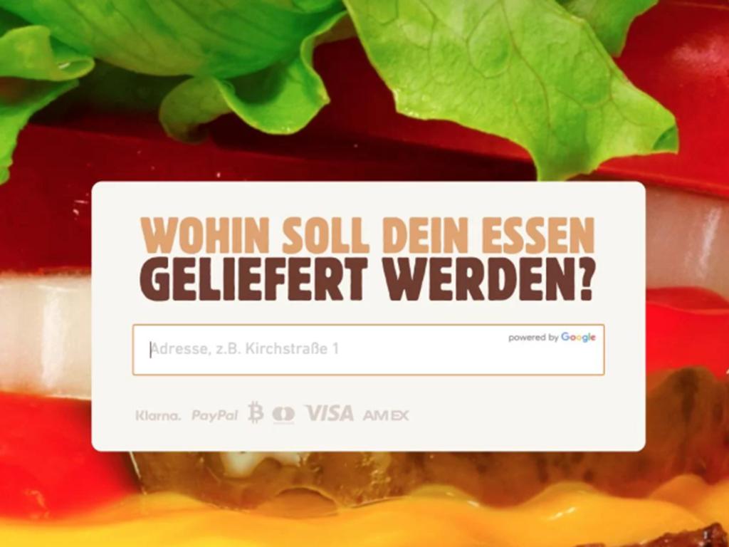독일에서 비트코인으로 버거킹 온라인 결제