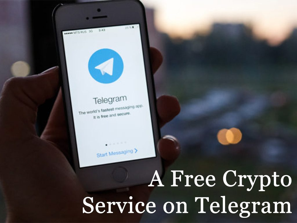 Increasing of Crypto Channels: A Free Cryptocurrency Service on Telegram